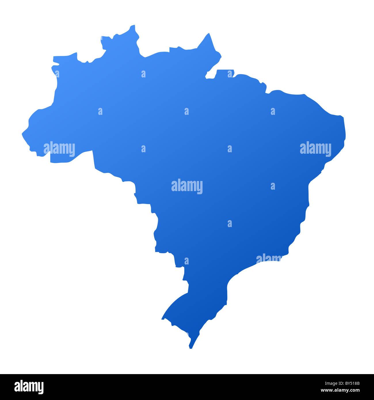 Map Brazil Stock Photos & Map Brazil Stock Images - Alamy