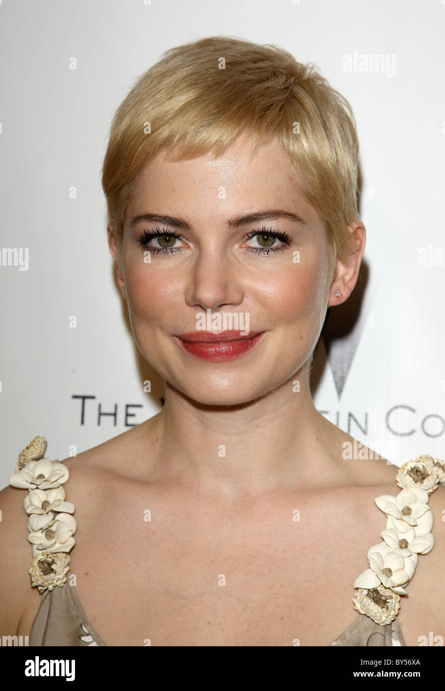 MICHELLE WILLIAMS RELATIVITY MEDIA AND THE WEINSTEIN COMPANY 2011 GOLDEN GLOBES AFTER PARTY BEVERLY HILLS LOS ANGELES - Stock Image