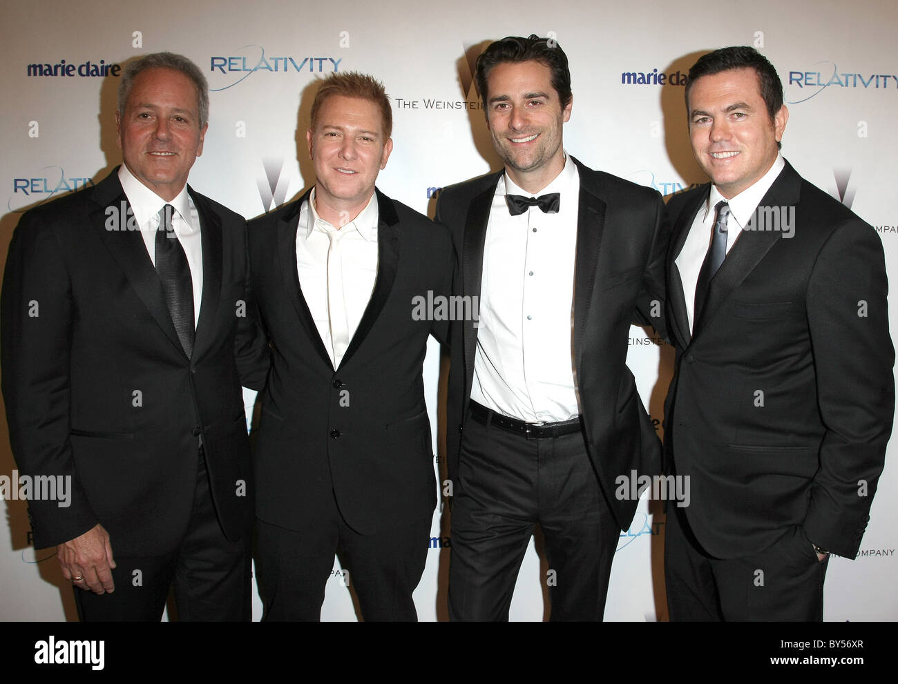 RYAN KAVANAUGH PRODUCERS OF THE FIGHTER RELATIVITY MEDIA AND THE WEINSTEIN COMPANY 2011 GOLDEN GLOBES AFTER PARTY - Stock Image