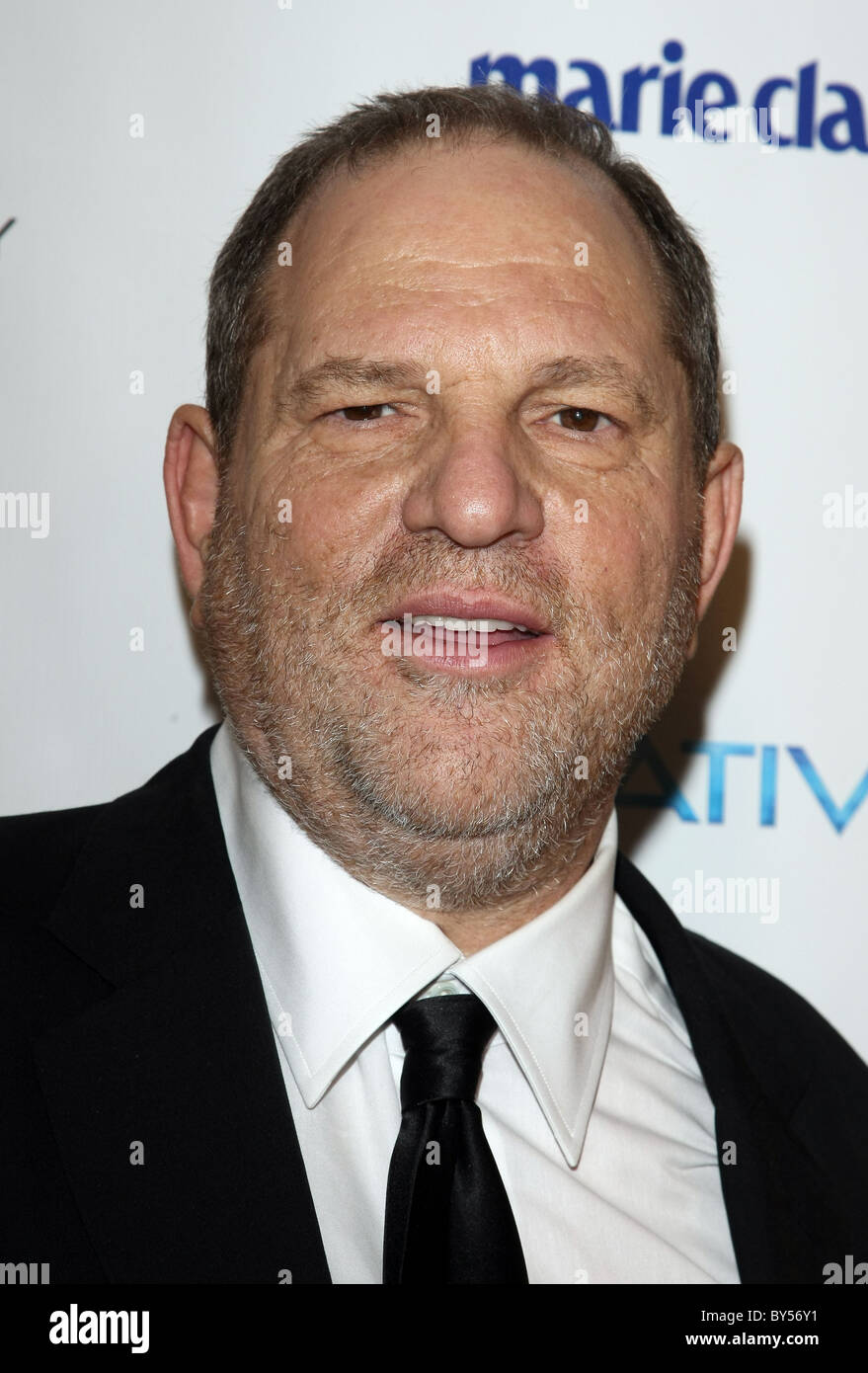 HARVEY WEINSTEIN RELATIVITY MEDIA AND THE WEINSTEIN COMPANY 2011 GOLDEN GLOBES AFTER PARTY BEVERLY HILLS LOS ANGELES - Stock Image