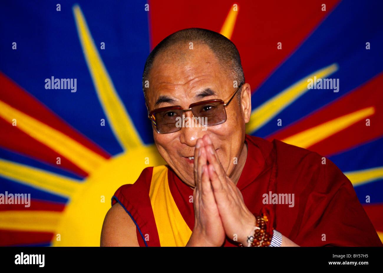 tenzin gyatso the 14th dalai lama The dalai lama's biography his holiness the xivth dalai lama, tenzin gyatso, is the spiritual and temporal leader of the tibetan peoplehe was born in a small village called takster in northeastern tibet.