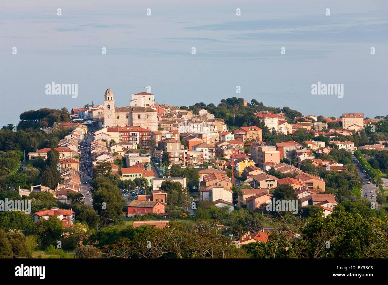 Sirolo, Marche, Italy - Stock Image