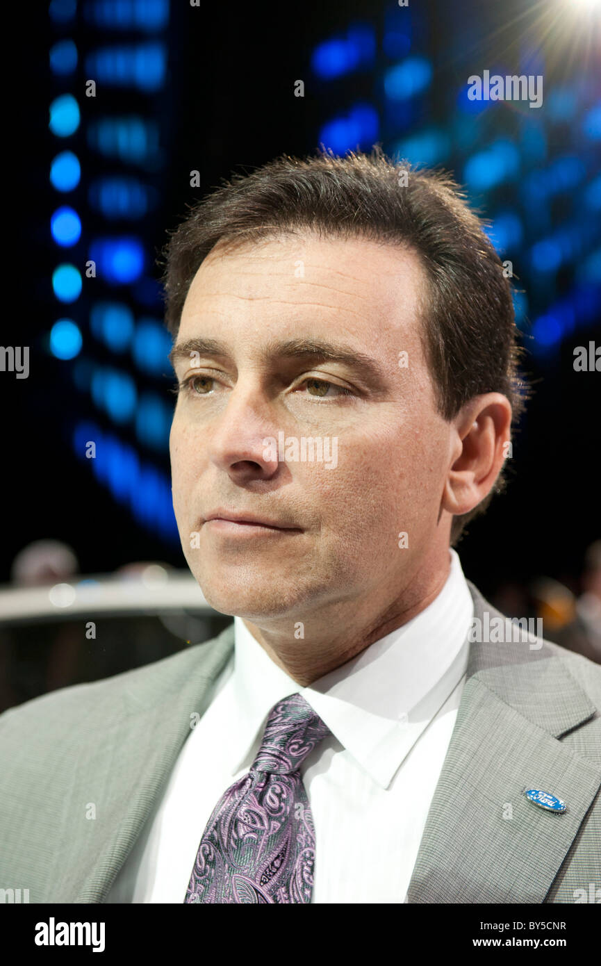 Mark Fields, Ford Motor Company Executive Vice President and President, The Americas - Stock Image