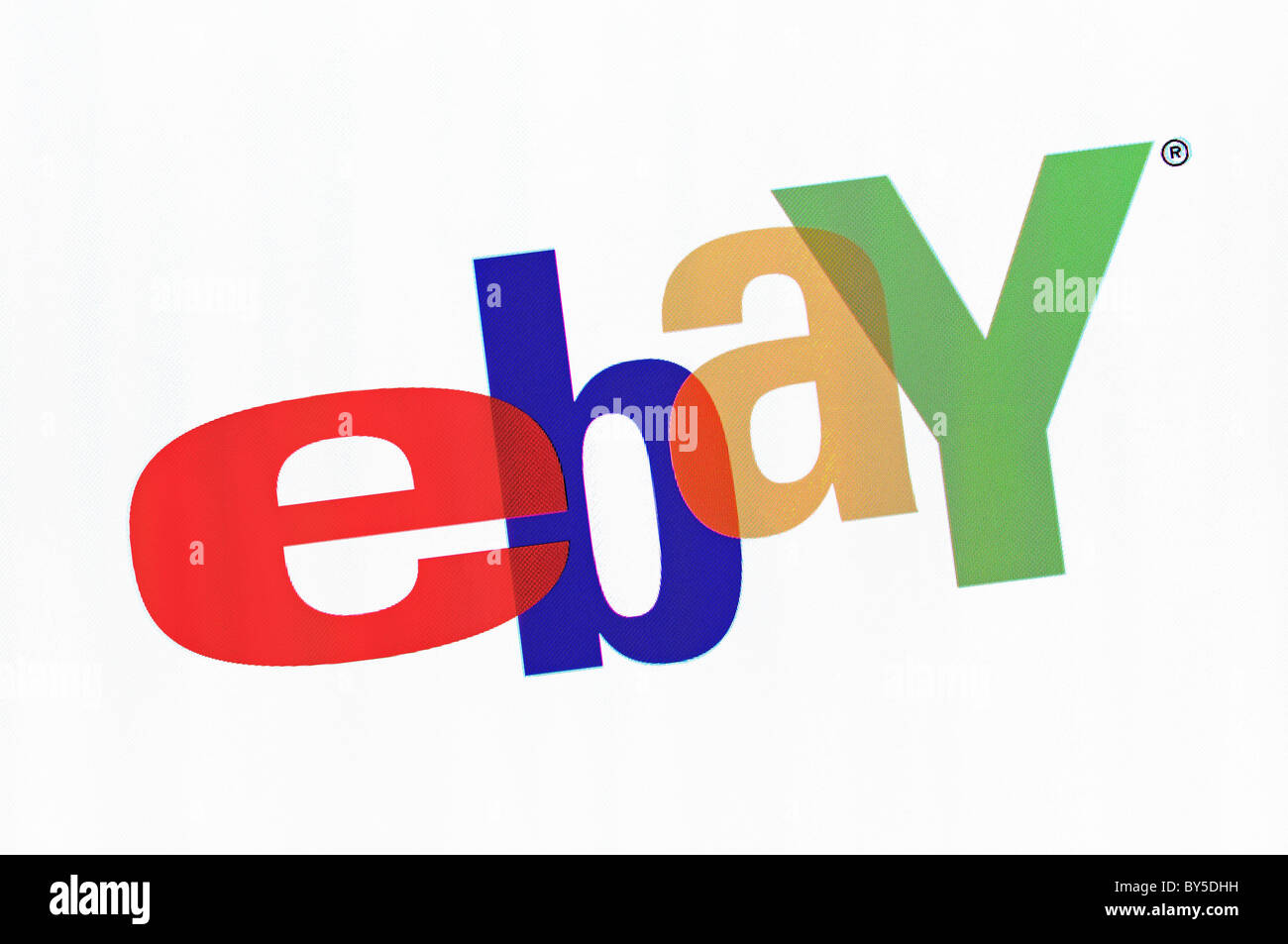 Ebay Logo Screenshot - Stock Image