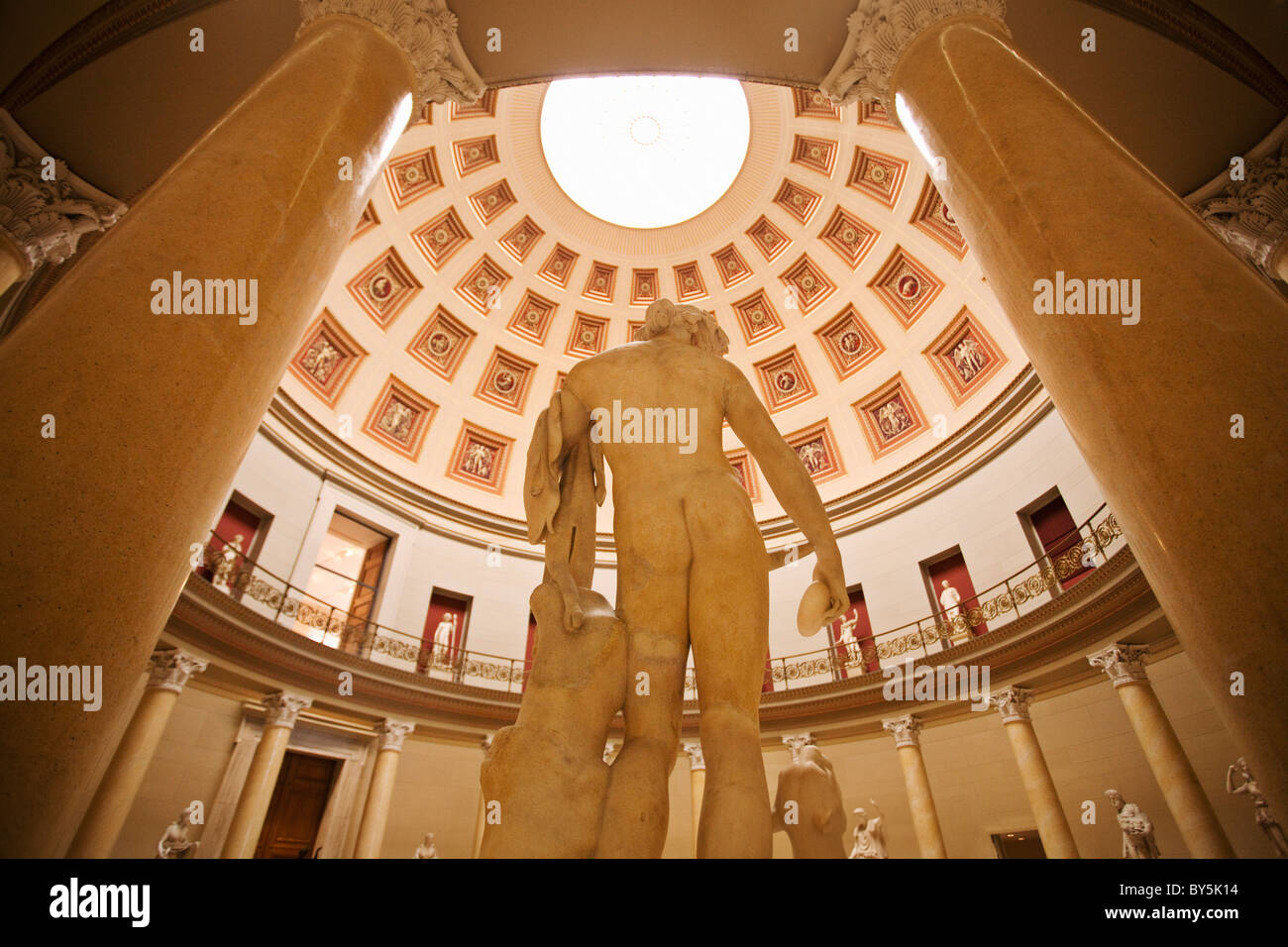 Germany,Berlin,Alte National Galerie (Old National Gallery) 1861, Museum Island Stock Photo
