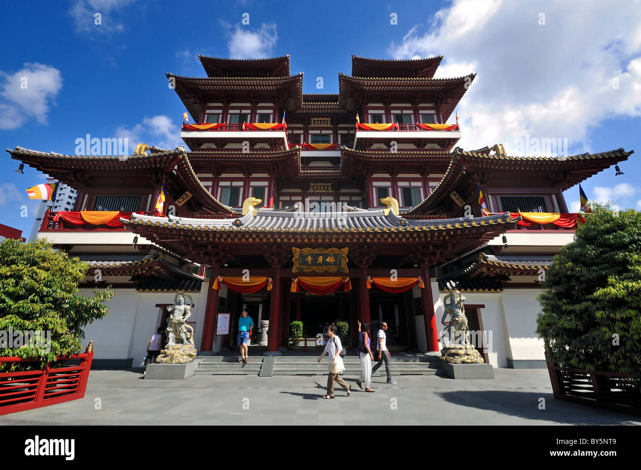 Buddha Tooth Relic Temple, Singapore - Stock Image