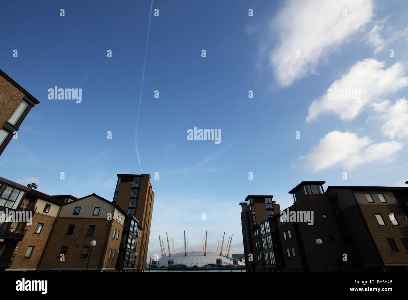 The O2, in the docklands. London - Stock Image