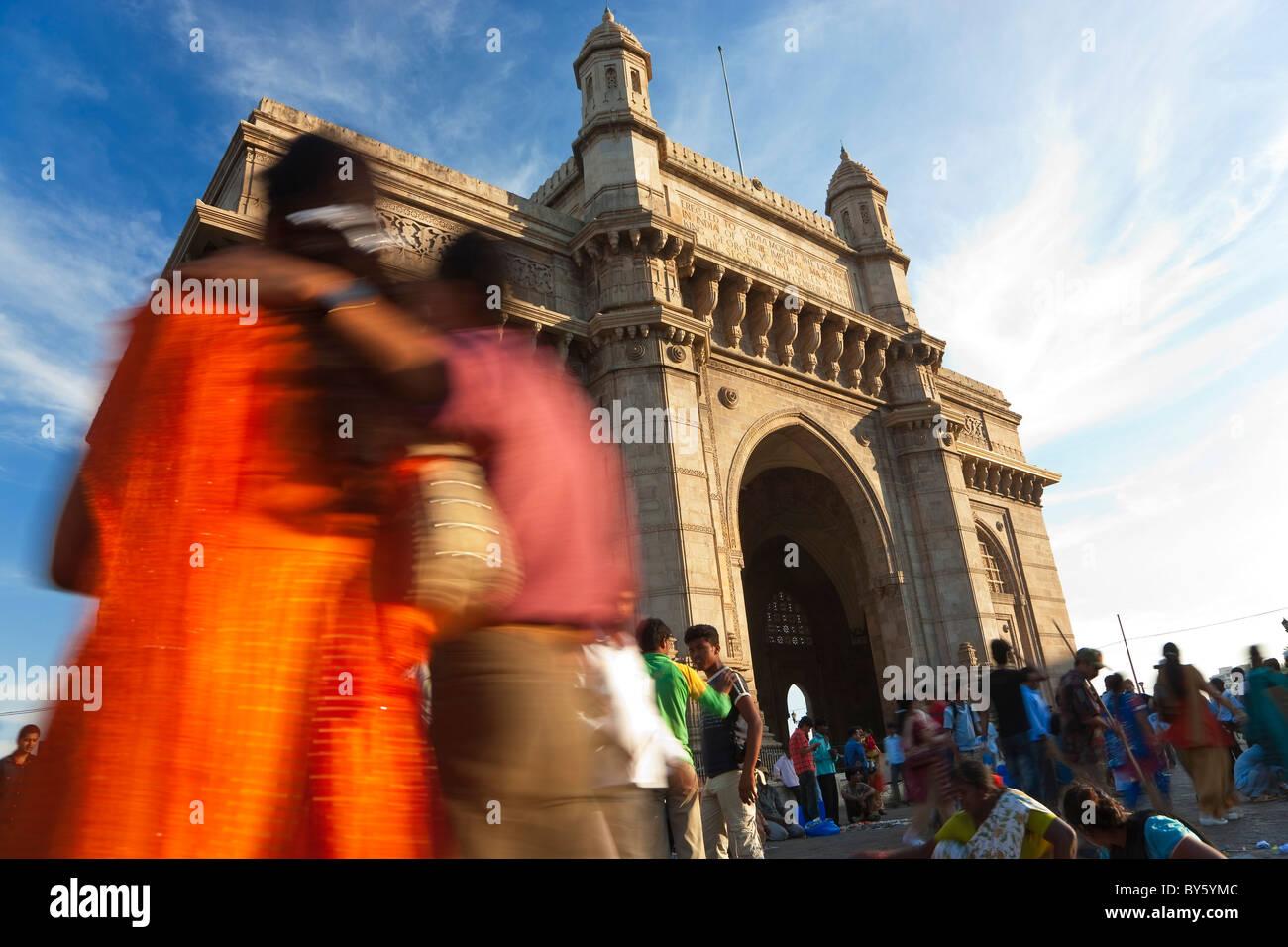 Gateway of India, Mumbai (Bombay), India - Stock Image