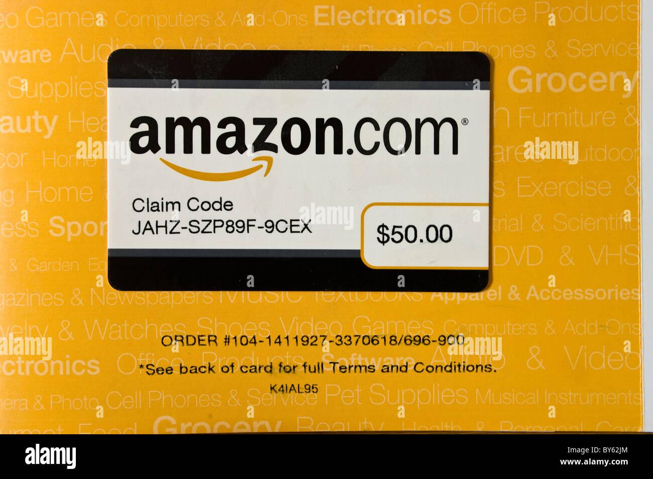 Amazon Gift Card Stock Photos Amazon Gift Card Stock Images Alamy
