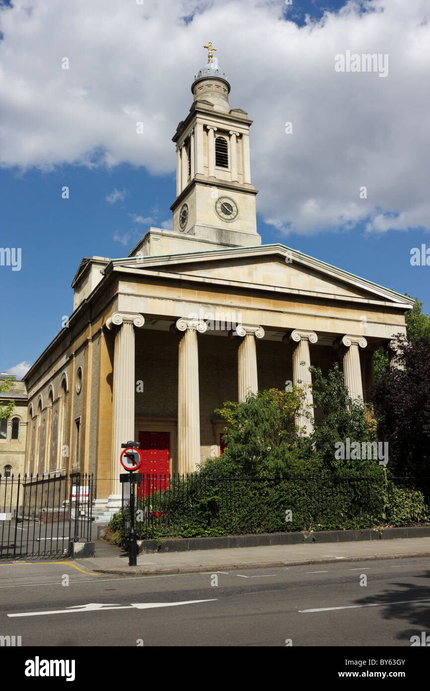 St Peter's Church in Eaton Square, London. - Stock Image
