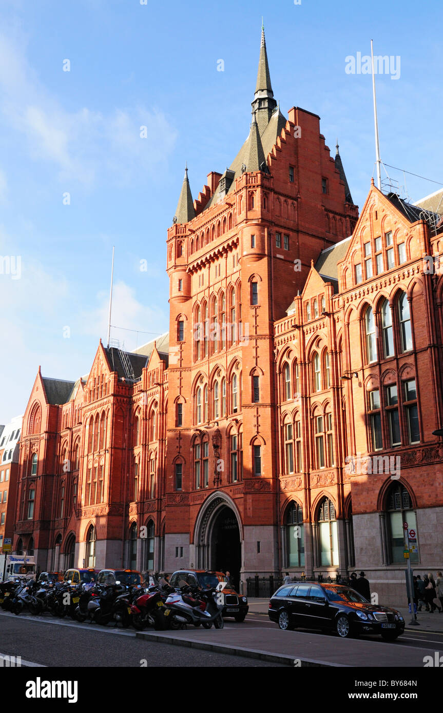 The Old Prudential Assurance Building, Holborn, London, England, UK - Stock Image