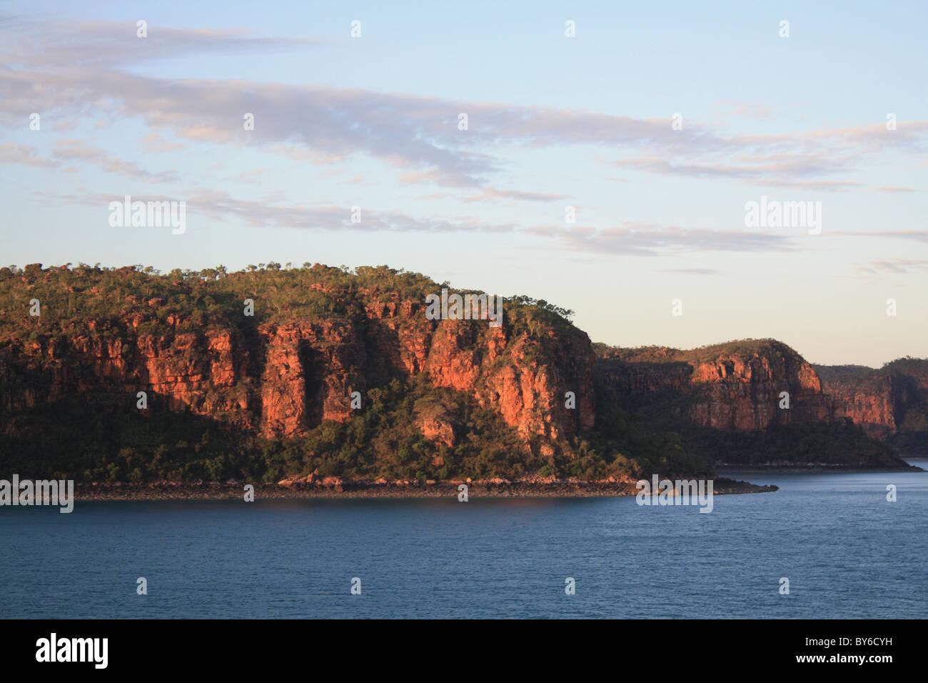 Kimberly Coastal Cliffs Stock Photo