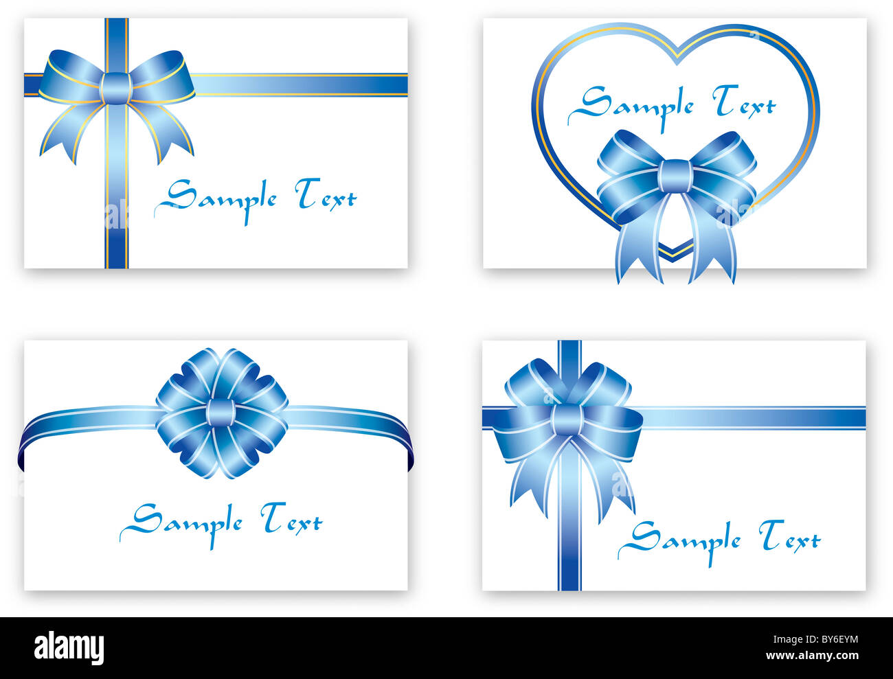 greeting card sample - Stock Image