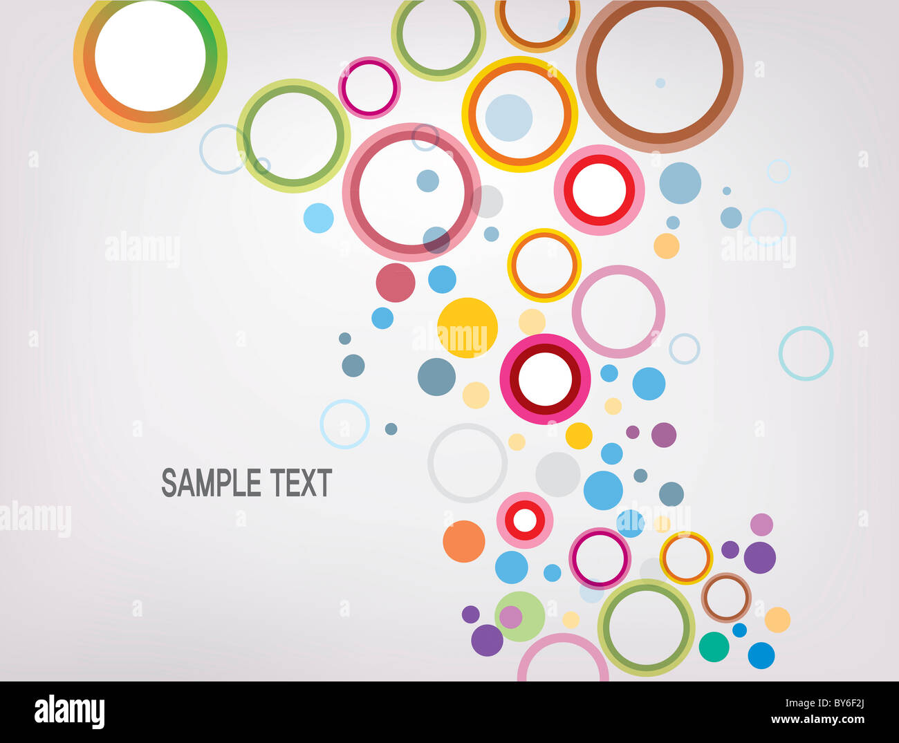 drop shaped illustration background Stock Photo