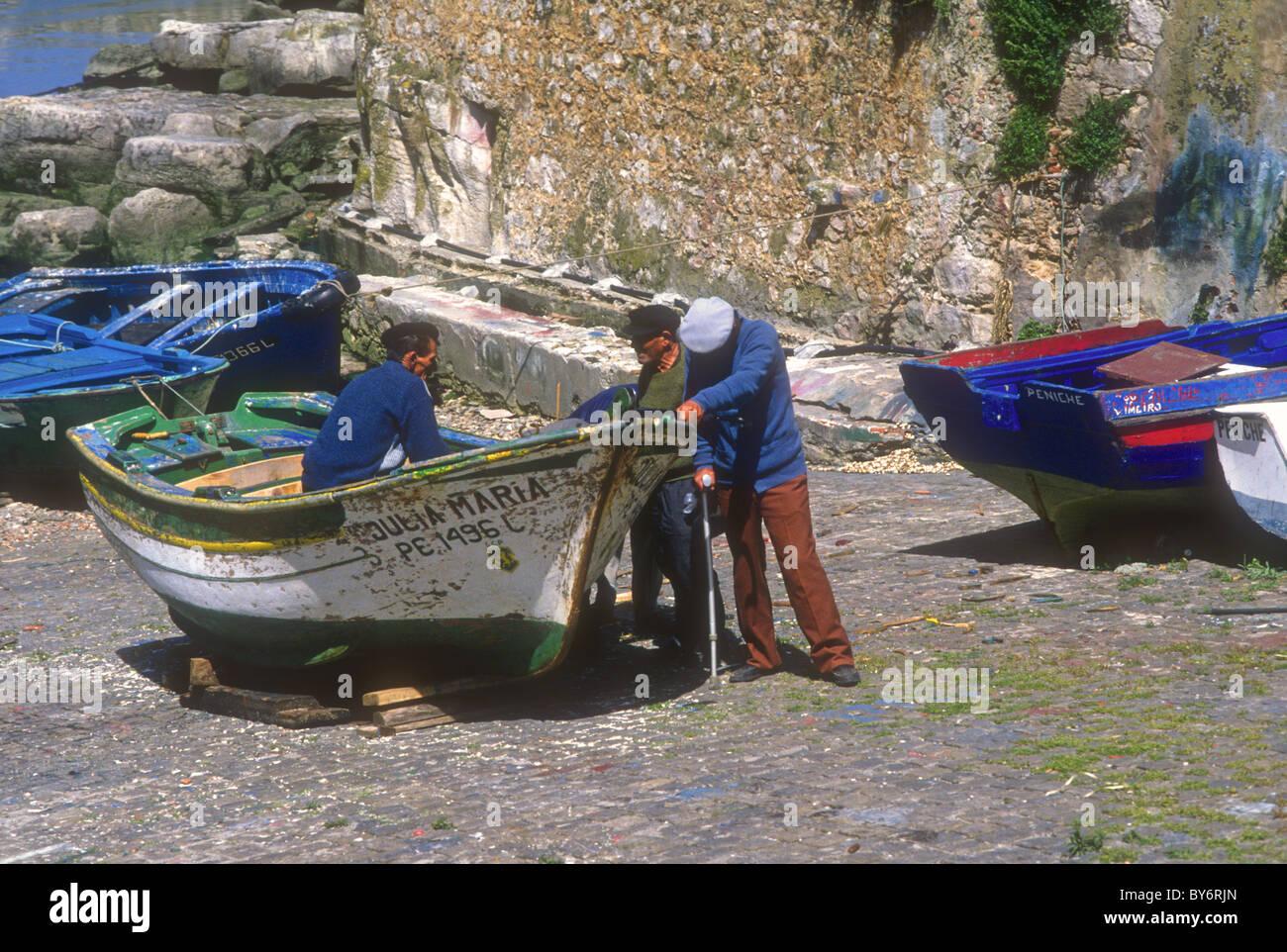 Peniche Portugal - Stock Image