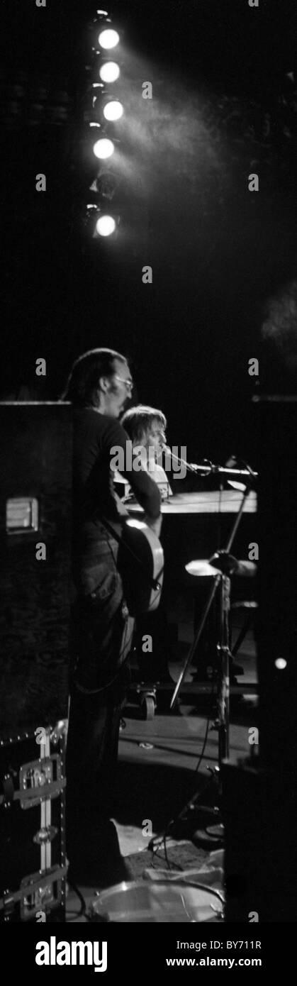 Leon Russel play Duke University, Durham, North Carolina, 1971 Carl Radle & Leon Russell - Stock Image