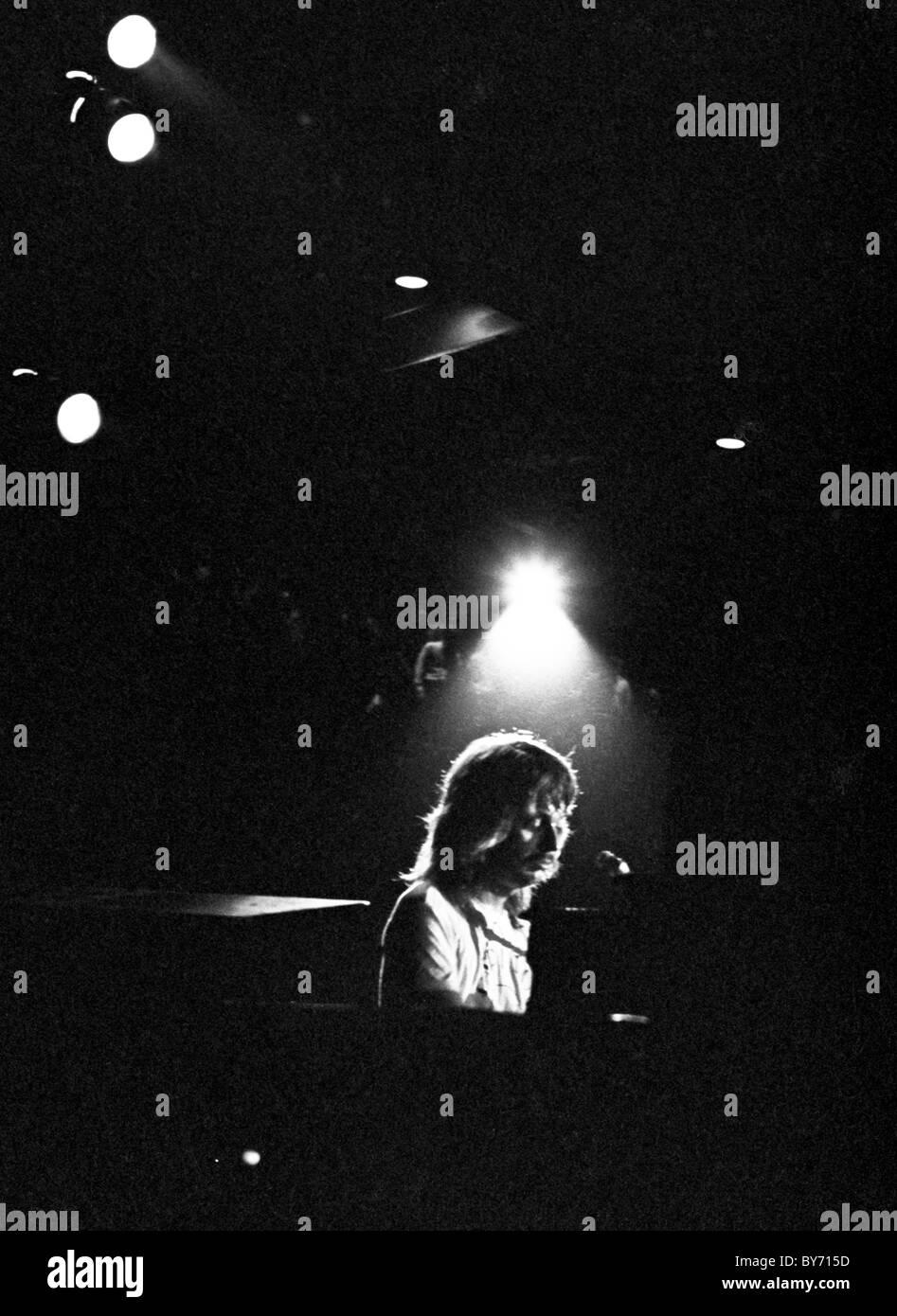 Leon Russel play Duke University, Durham, North Carolina, 1971 Leon Russell - Stock Image