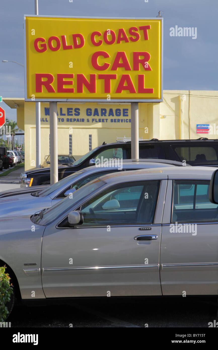 Fort Lauderdale Ft Florida Gold Coast Car Rental Local Business Car