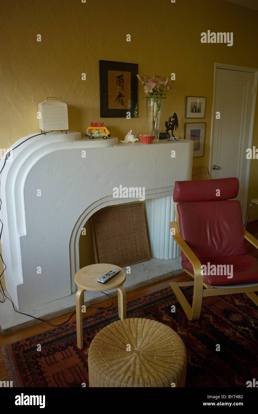 art deco living room of apartment miami beach florida usa - Livingroom Deco
