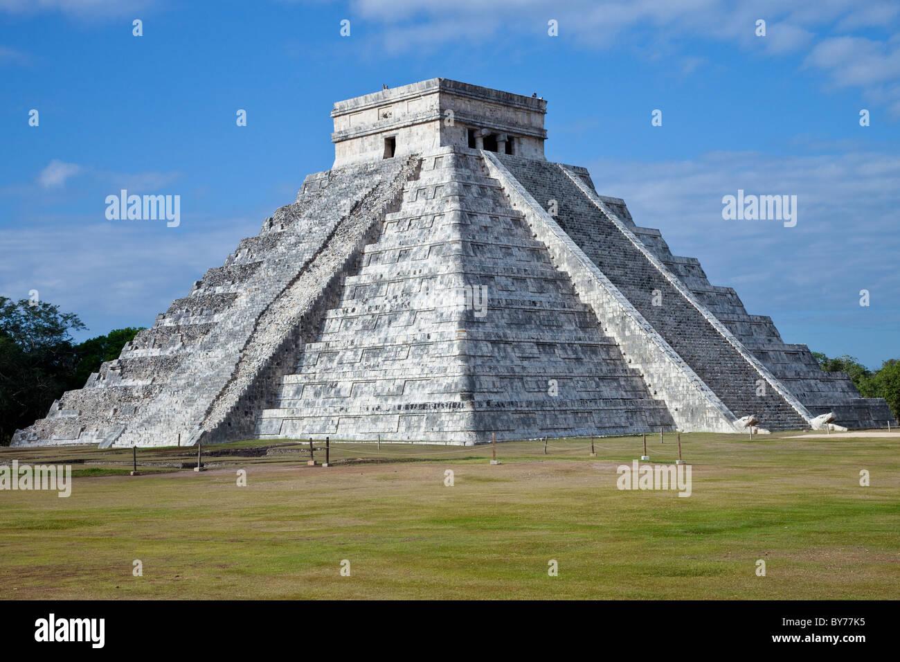El Castillio, Chichen Itza, Mexico - Stock Image