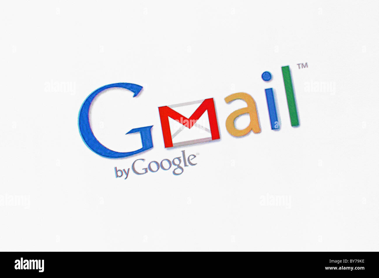 Gmail Logo Screenshot - Stock Image