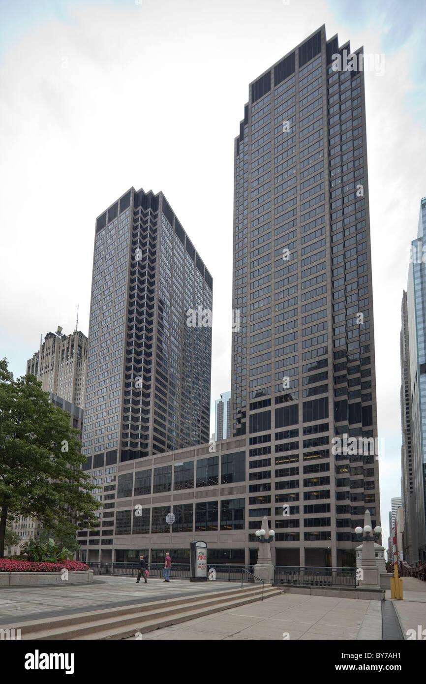 Chicago Mercantile Exchange Center, Illinois, USA Stock Photo