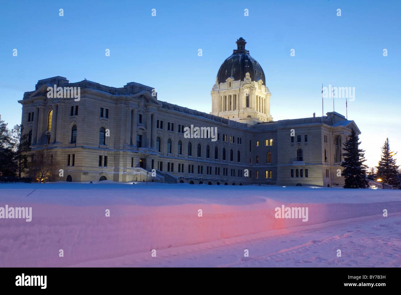 Saskatchewan Legislative Building - Stock Image