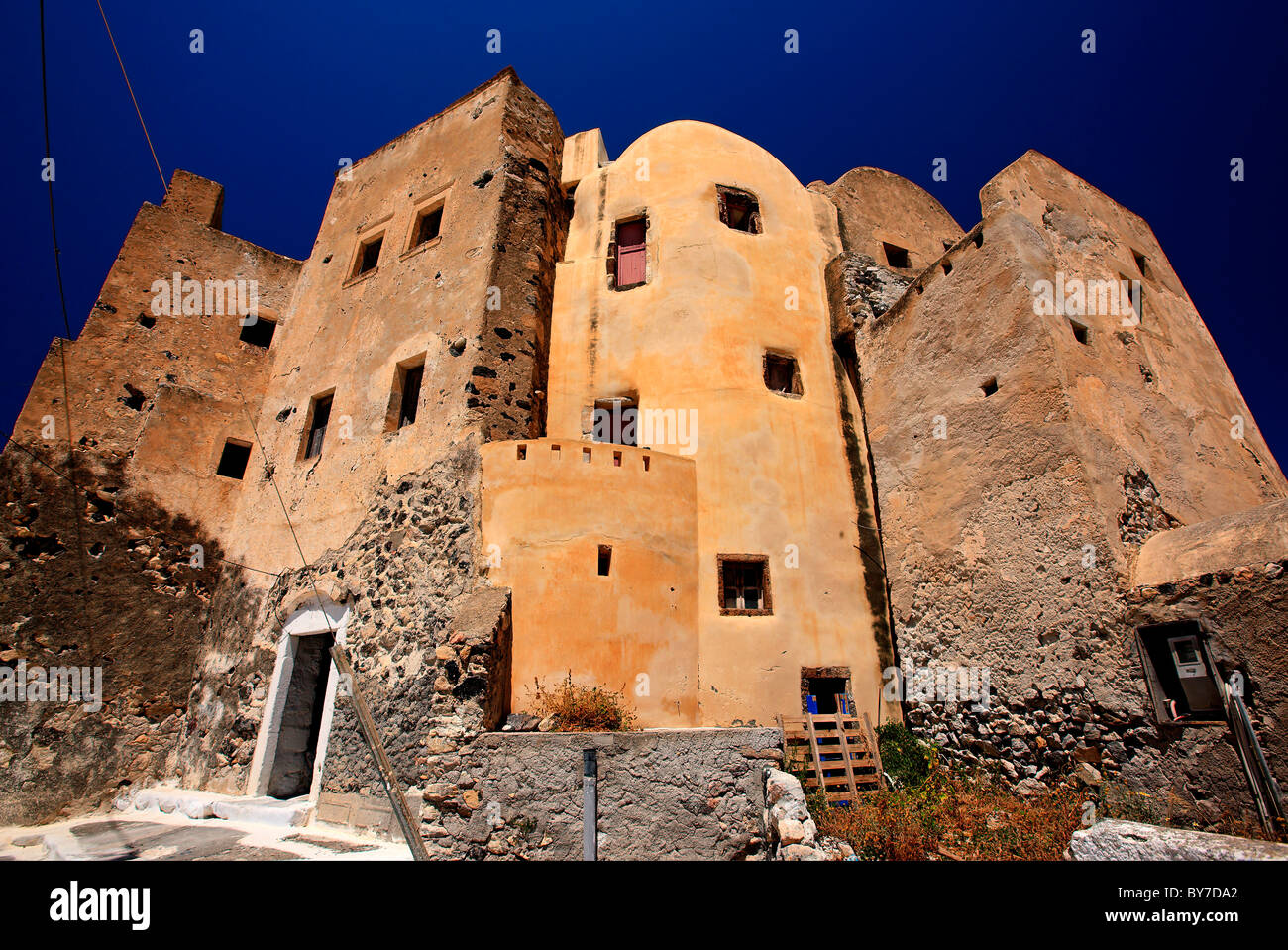 The Kastelli Small Castle Of Emboureios Village