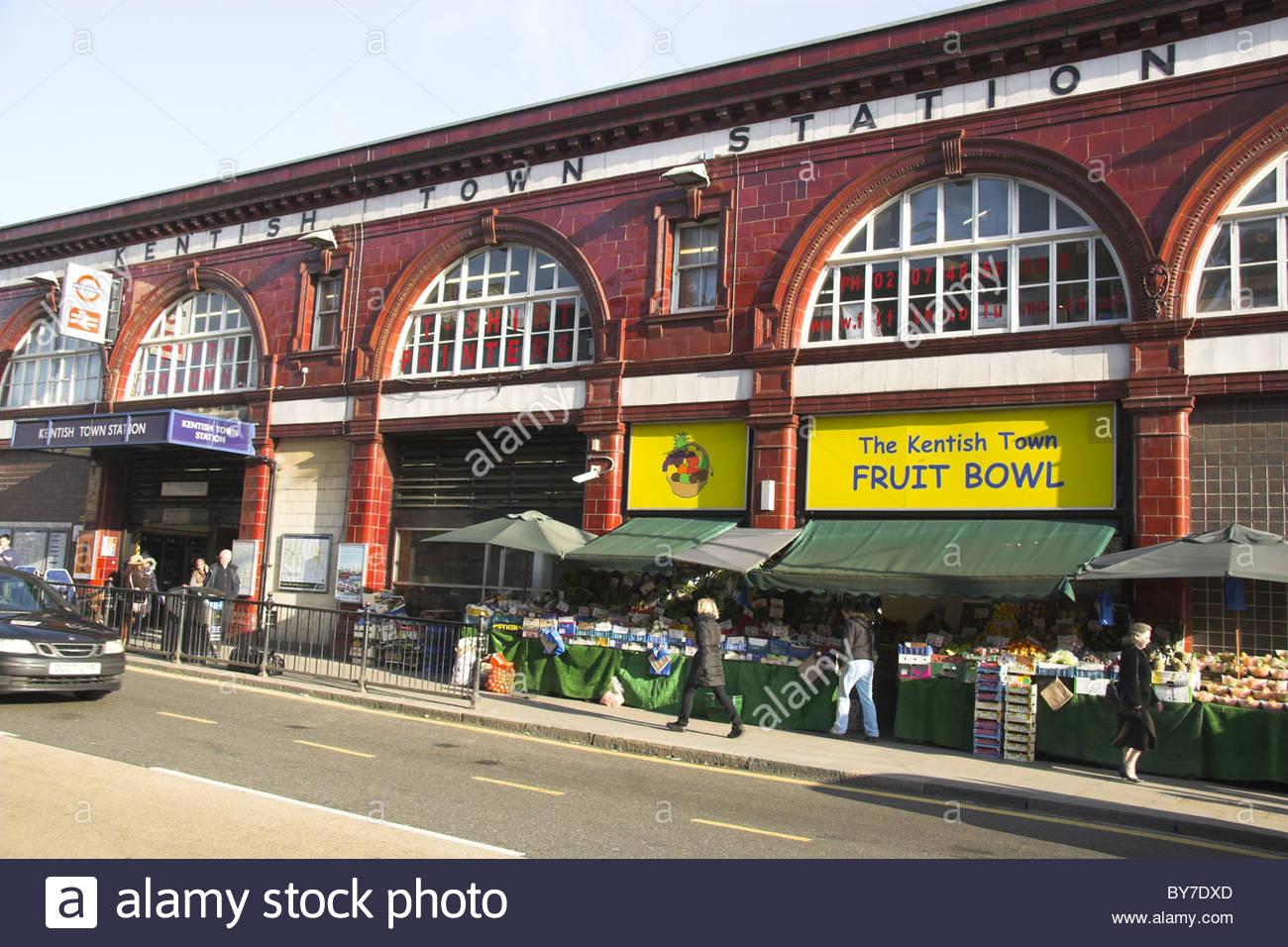 kentish town tube station