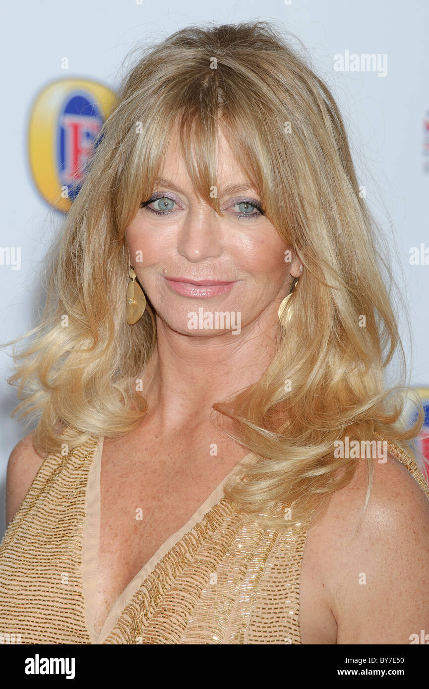Goldie Hawn attends the British Comedy Awards 2011 at the 02, London, 22nd January 2011. - Stock Image