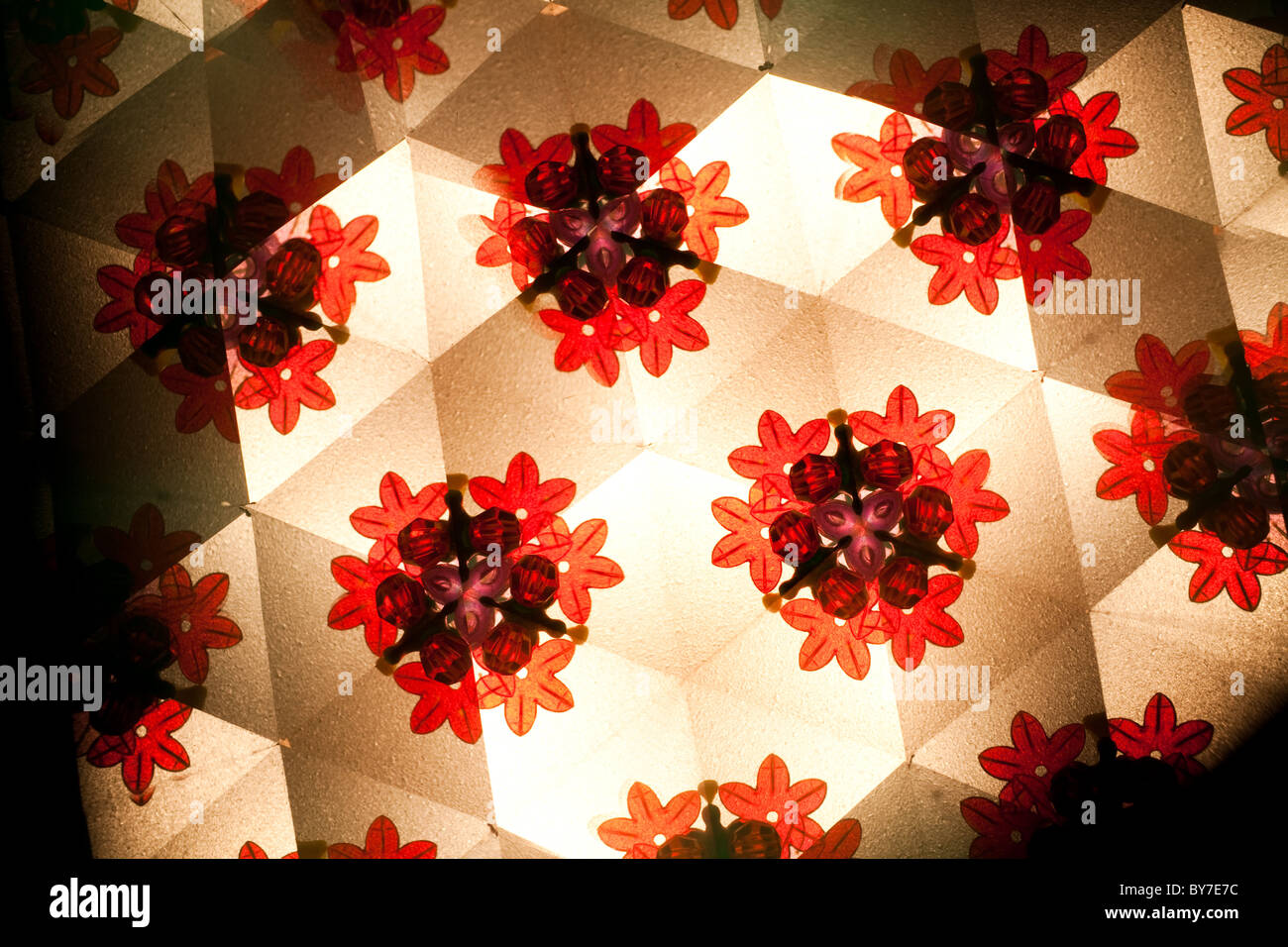 kaleidoscope pattern for background use - Stock Image
