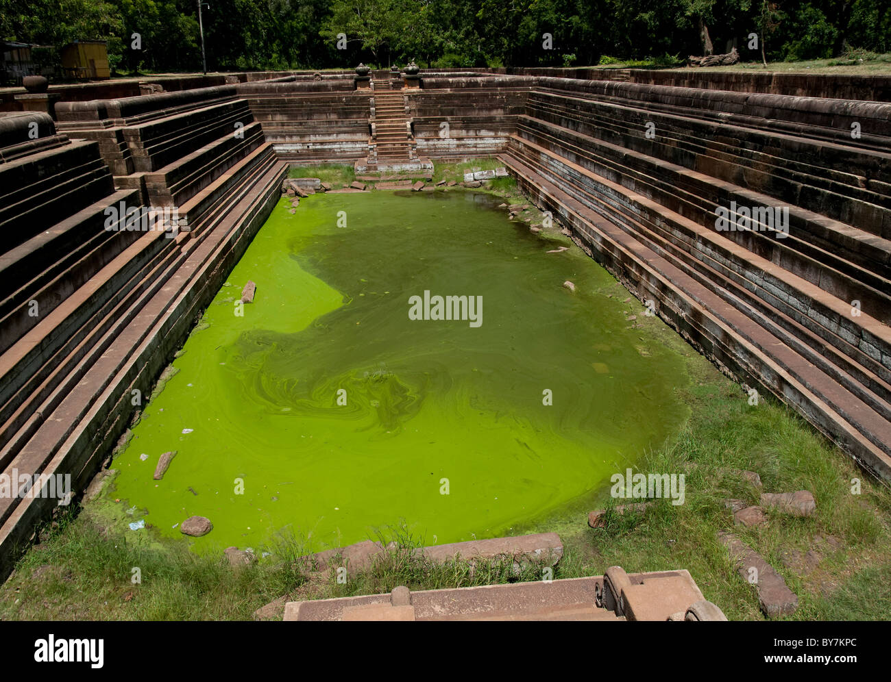 Pool in Anuradhapura - Stock Image