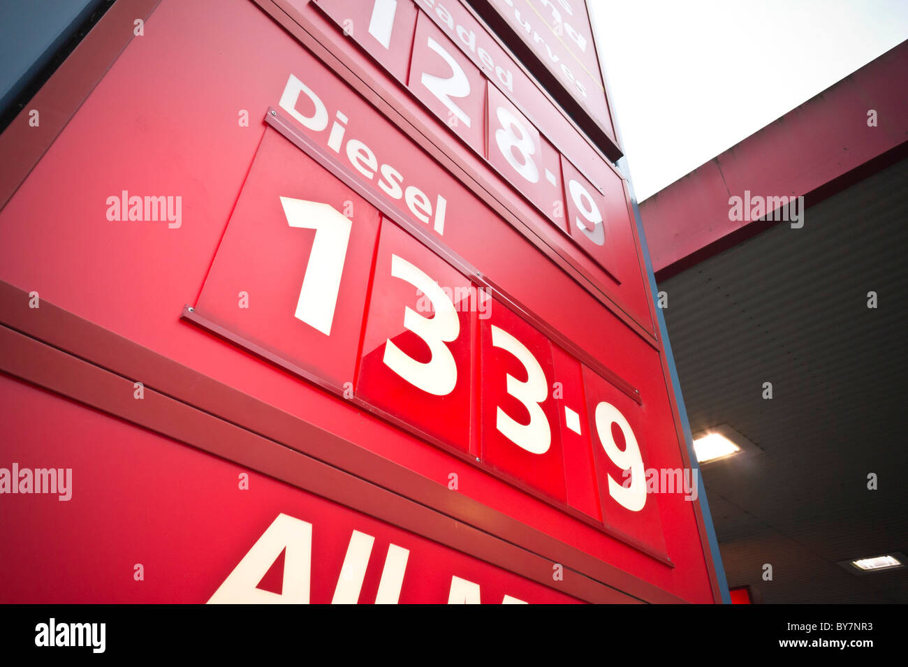 Diesel Pump Uk Stock Photos & Diesel Pump Uk Stock Images
