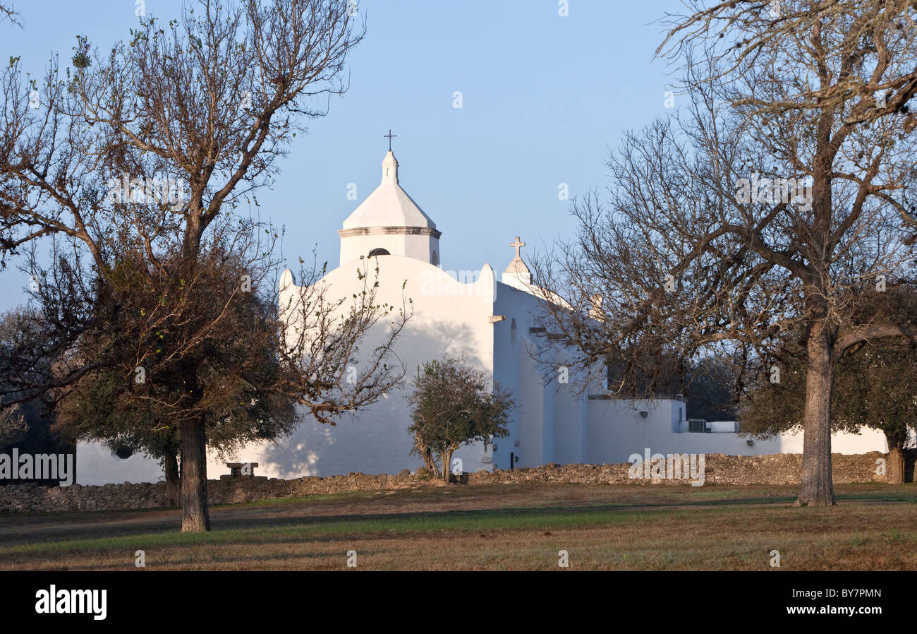 Mission Espiritu Santo, Texas - Stock Image
