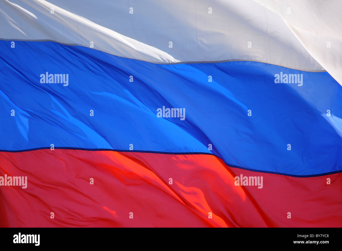 Flag of Russia - Stock Image