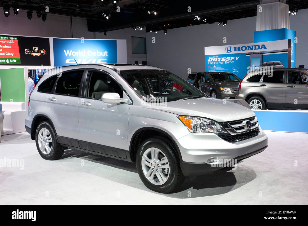 2011 Honda CR-V at the 2011 North American International Auto Show in Detroit - Stock Image