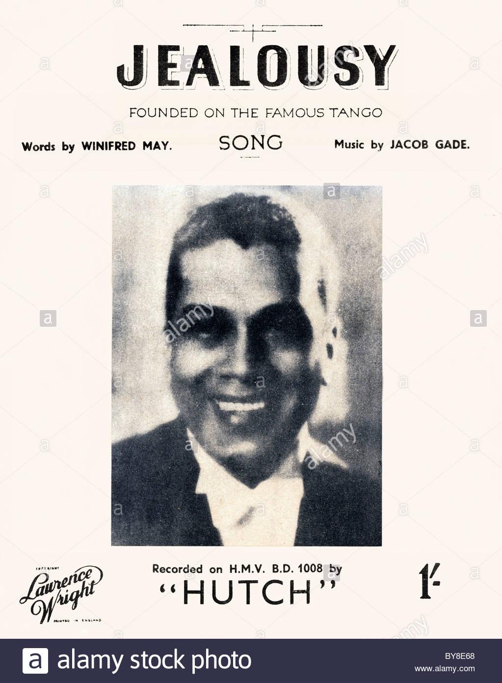 songs JEALOUSY Hutch 1942