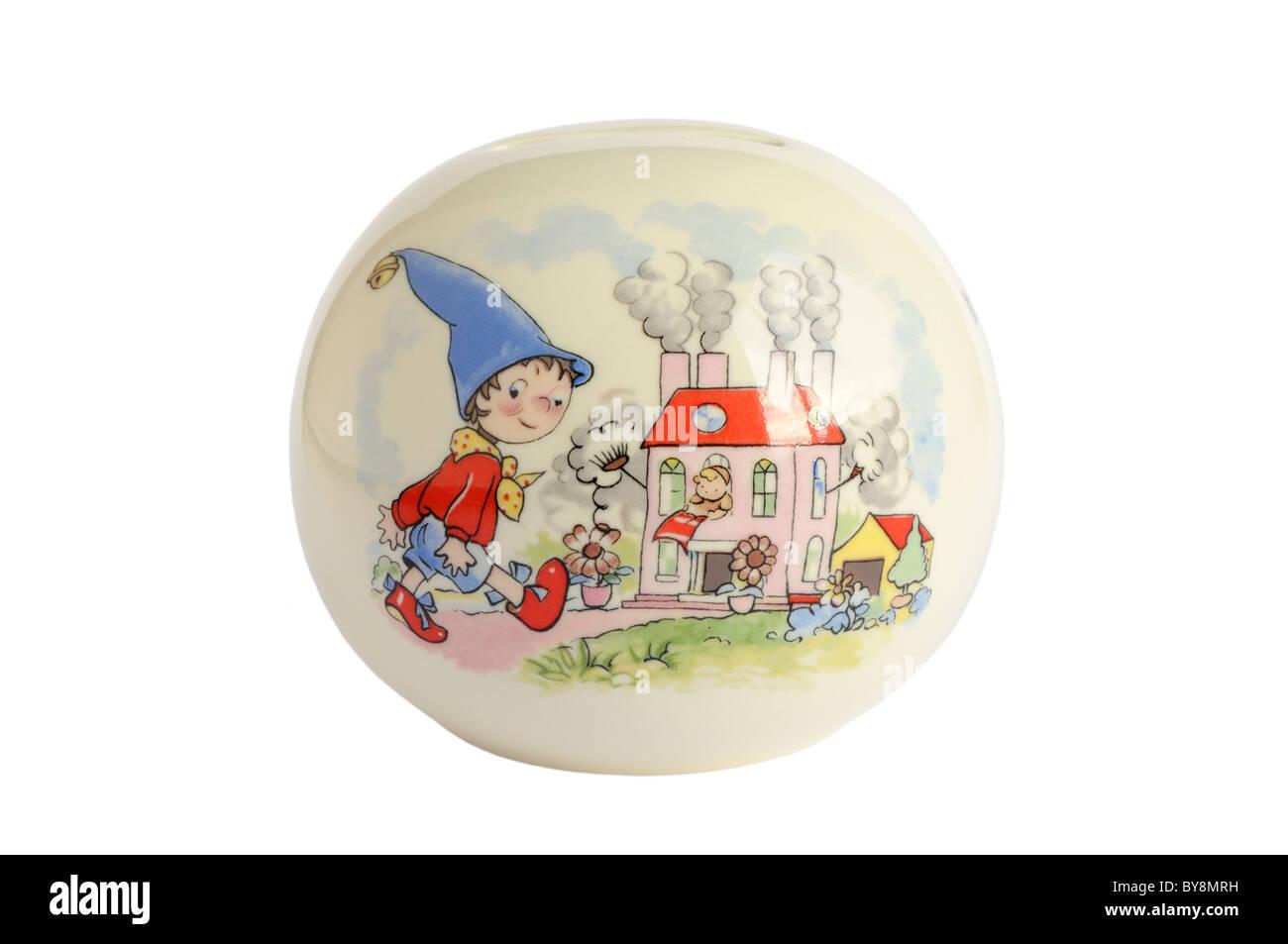 Noddy money box - Stock Image