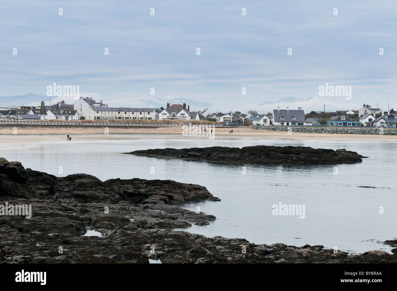 Trearddur Bay, Anglesey, North Wales UK - Stock Image