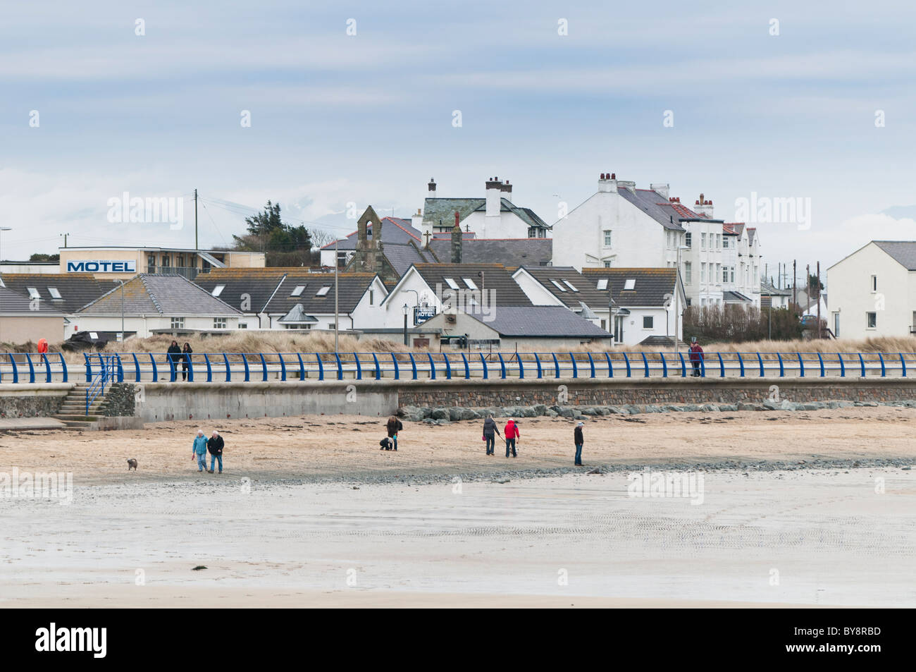 Trearddur Bay, Anglesey, North Wales UK - Stock Image