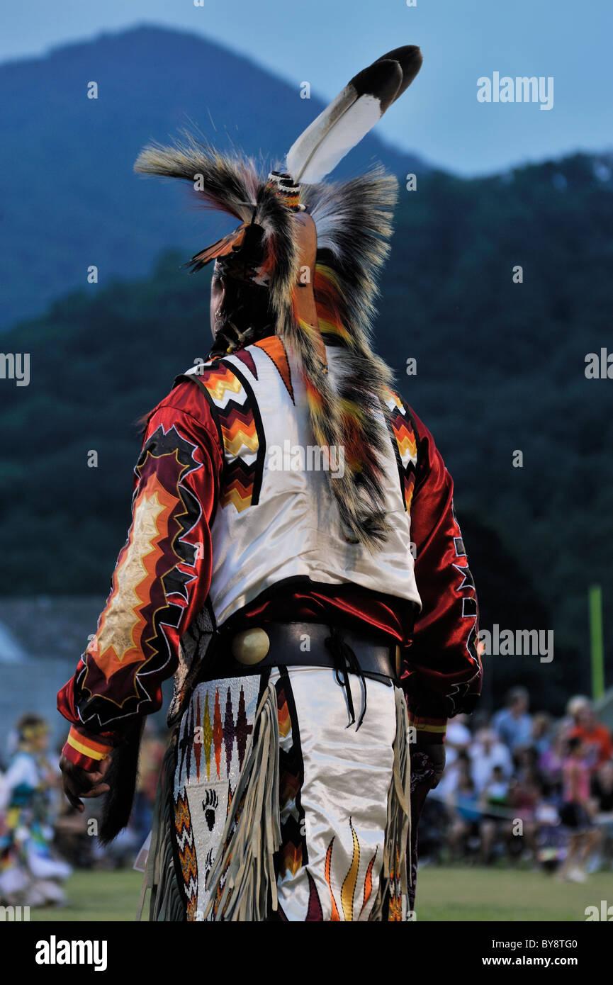 Cherokee Tribe Traditional Dress Stock Photos & Cherokee Tribe