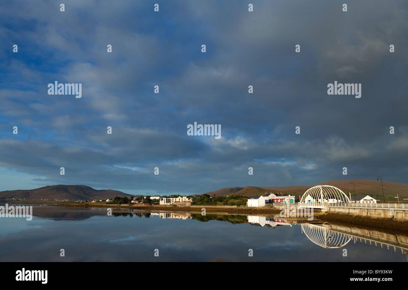 Contemporary Bridge to Achill Sound, Achill Island, County Mayo, Ireland - Stock Image