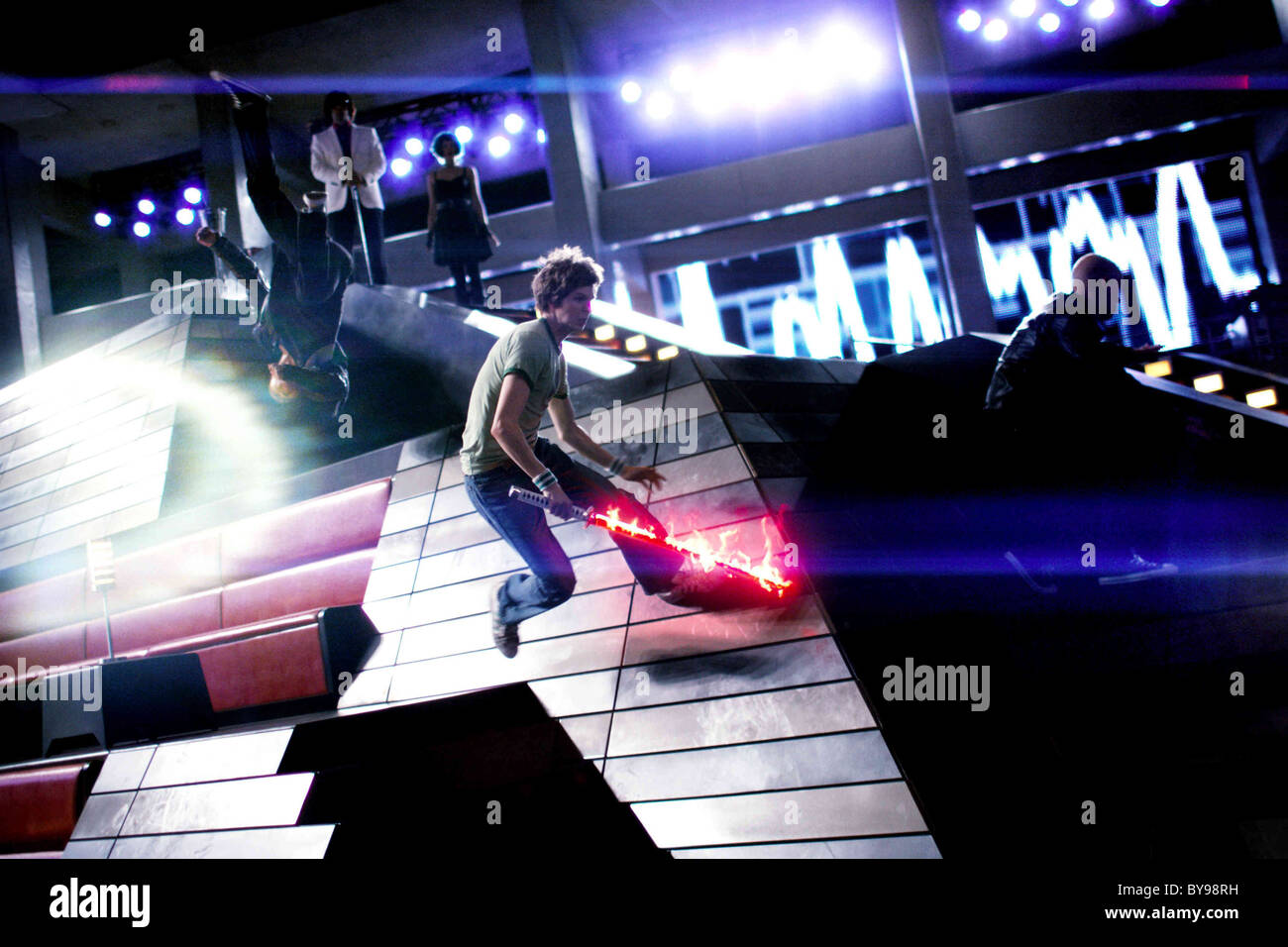 Scott Pilgrim vs. the World Year : 2010 USA Director : Edgar Wright Michael Cera - Stock Image