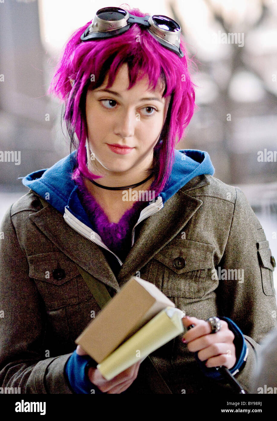 Scott Pilgrim vs. the World Year : 2010 USA Director : Edgar Wright Mary Elizabeth Winstead - Stock Image
