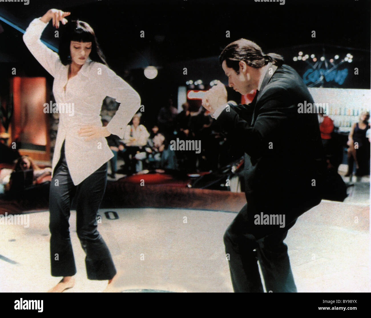 John Travolta Dancing High Resolution Stock Photography And Images Alamy