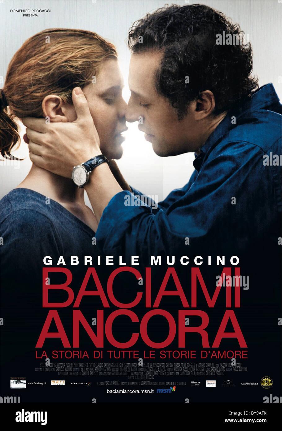 Baciami ancora Kiss me again Year : 2010 Italy Director : Gabriele Muccino Vittoria Puccini, Stefano Accorsi - Stock Image