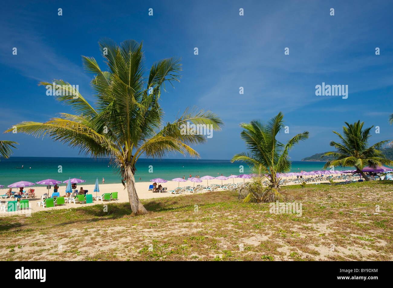Karon Beach, Phuket island, Thailand, Asia - Stock Image