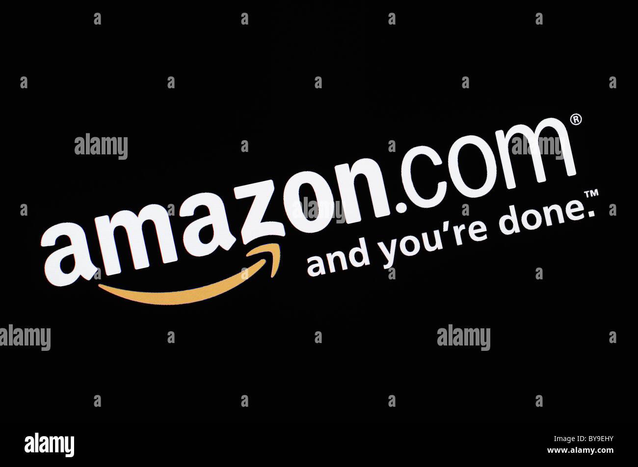 Amazon Screenshot Stock Photo