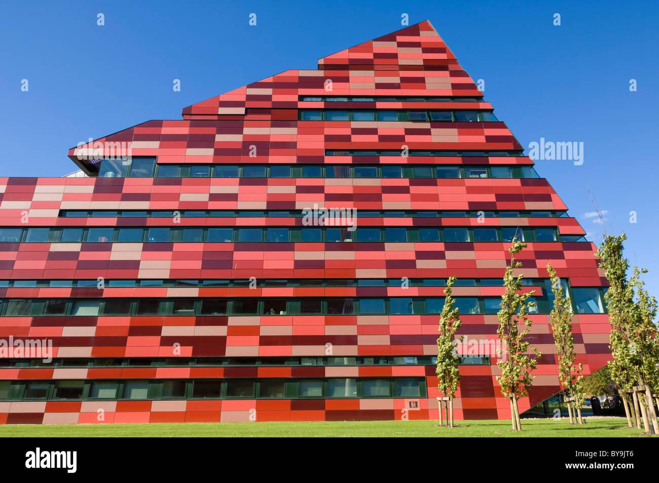 'international house' Jubilee campus Nottingham University of Nottingham Nottinghamshire England UK GB EU - Stock Image