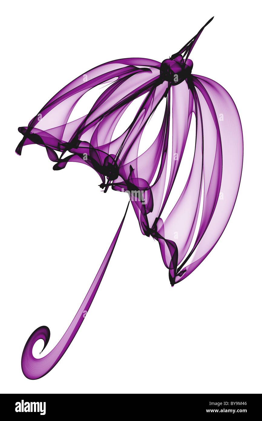 Purple Umbrella Clip Art